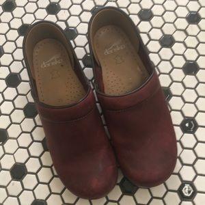 Dansko leather clog